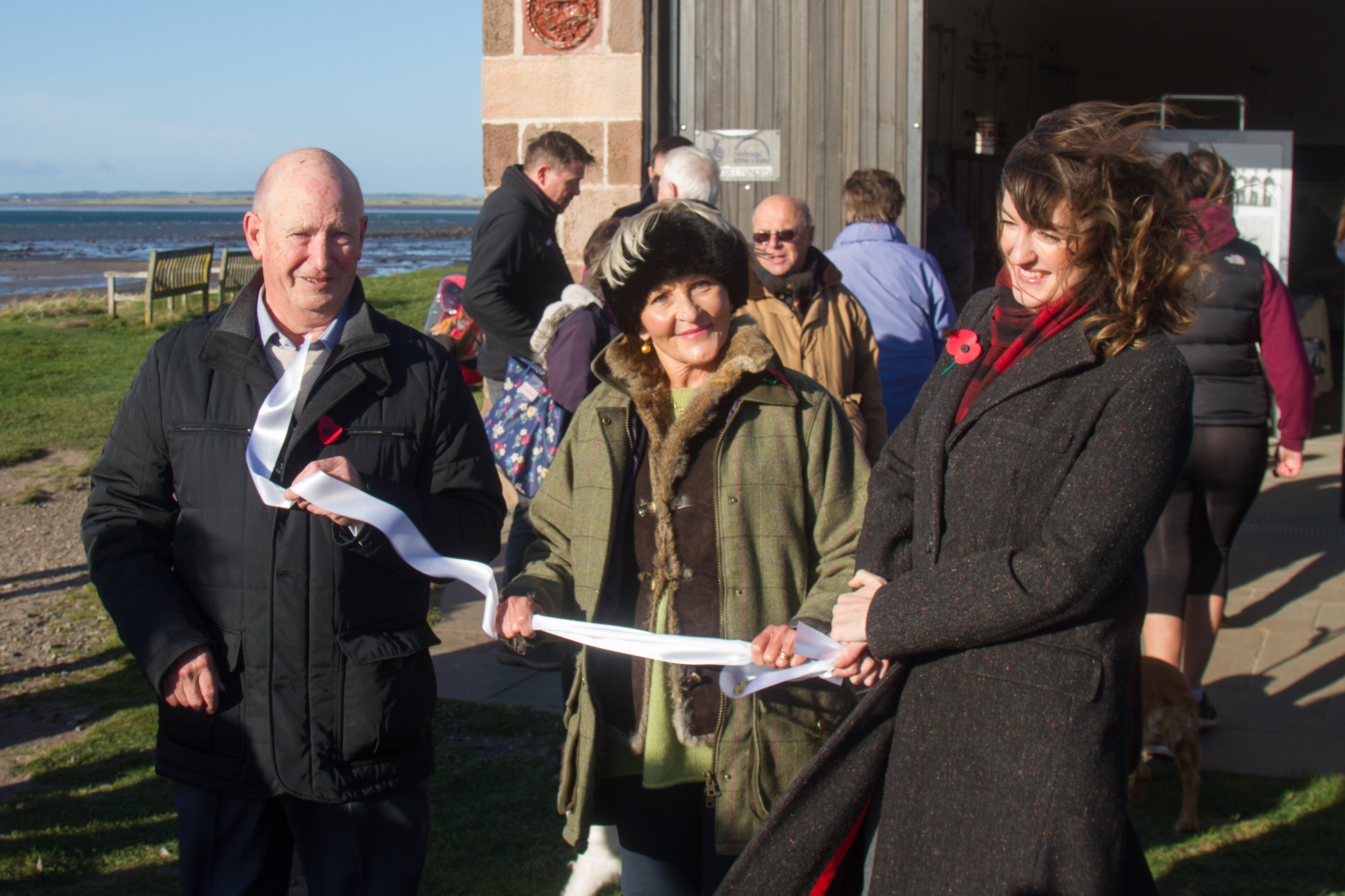 Old Lifeboat House on Holy Island officially opens to the public
