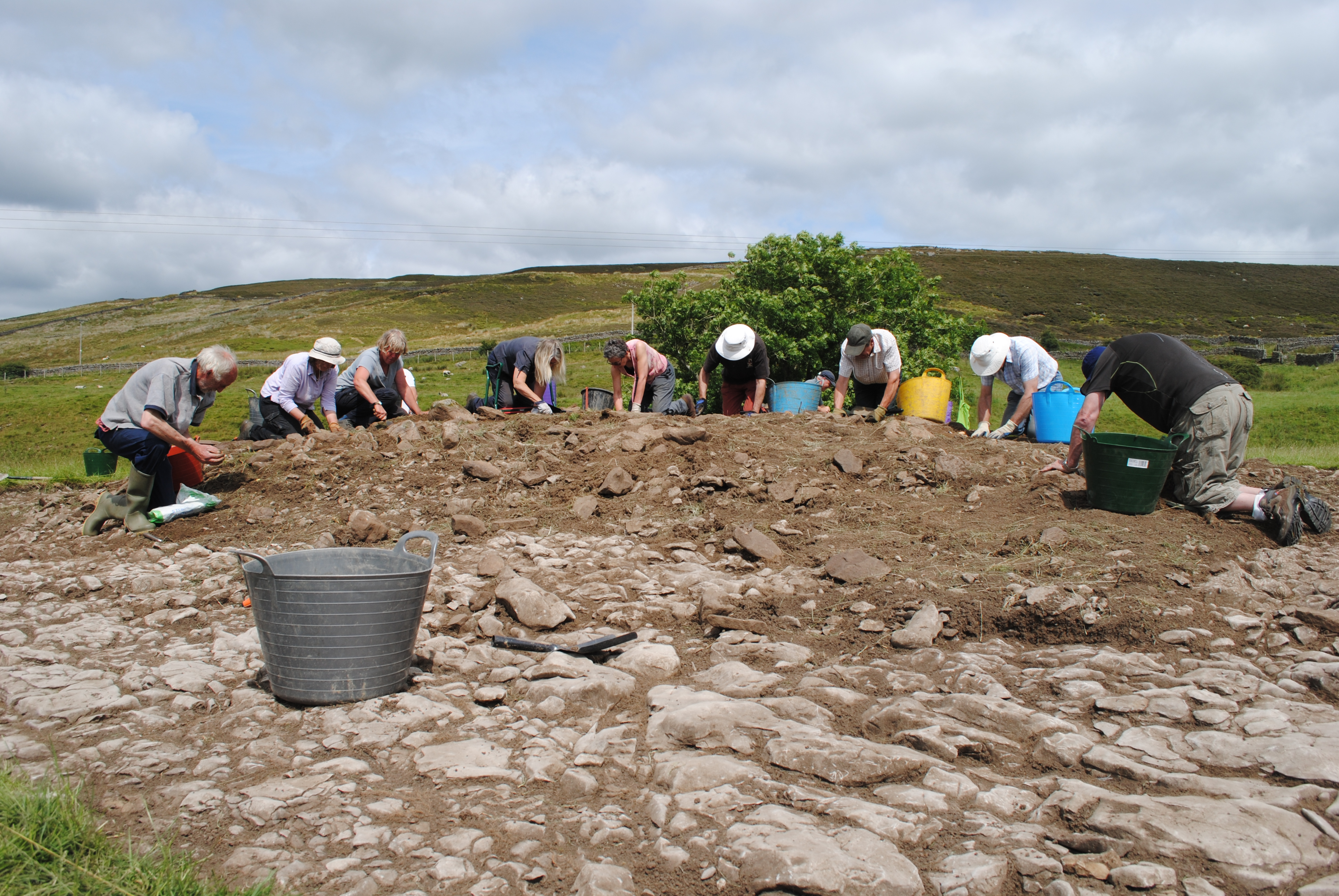 Community Archaeology event pulls in the crowds!